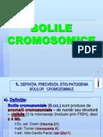 Curs 9 MG Bolile Cromosomice
