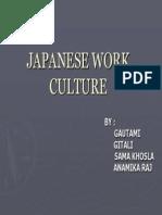 71263831 Japanese Work Culture