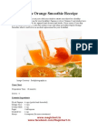 Papaya Orange Smoothie Receipe.doc