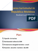 Dezvoltarea Turismului in Republica Moldova