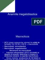 Aneniile megaloblastice