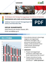 KECUK BPS - Pembelajaran Penanggulangan Kemiskinan