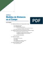 Cap IV.- Medidas de Distancia en Campo