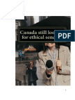 Canada Still Looking for Ethical Senator!