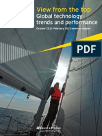 View From the Top Global Technology Trends and Performance October 2012 February 2013