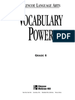 Vocabulary Power Workbook - Glencoe_McGraw-Hill