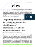 2.2 International News Changing World
