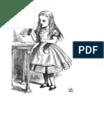 alice in wonderland - illustrations