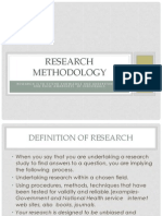 research methodology unit 221
