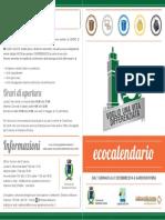 Calendar 2014 Bozza Gardone Riviera