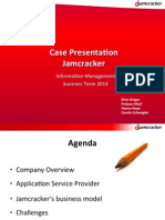 Jamcracker Case Presentation