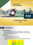 CFX-Intro 14.5 WS10 Vortex-Shedding