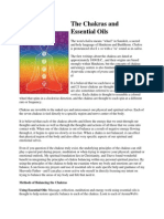 The Chakras and Essential Oils