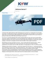 Knowledge.wharton.upenn.edu-Whats Ailing Indias Defense Sector