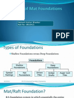 Design of Mat Foundations