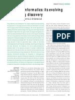 Informatics Drug Discovery
