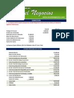 Ejercicio de Estado Integral de Costos Resuelto