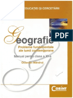 Geografie Clasa 11 - Corint - Octavian Mandrut