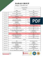 Jadwal Pertandingan Futsal