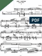 Bartok - SZ 41 - Deux Elegies (Op 8b)