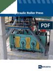 FLS Hydraulic Roller Press