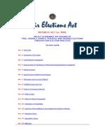 RA 9006-Election Act