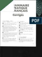 gramaire pratique du français en 80 fiches corriges