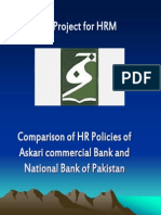 25528983 Askari Commercial Bank and NBP Comparison of HR Policies