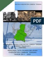 Peraturan Daerah Kabupaten Lombok Tengah Nomor 7 Tahun 2011 Tentang Rencana Tata Ruang Wilayah Kabupaten Lombok Tengah Tahun 2011 - 2031