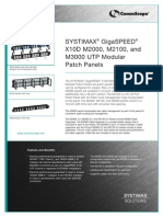 GigaSPEED X10D UTP Panel Product Brief 3-13-08