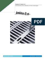 DtEC Mist Eliminators Brochure 140709