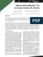 031 Depresion Infantil Un Estudio en La Provincia de Soria
