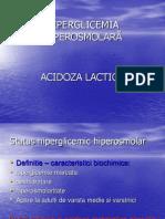 HIPERGLICEMIA HIPEROSMOLARĂ