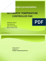Automatic Tempearture Controlled Fan