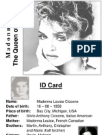 The Queen of Pop_Madonna