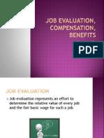 Job Evaluation, Compensation,