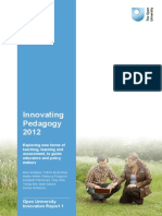 Innovating Pedagogy