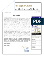 Discover the Love of Christ Dec 2013
