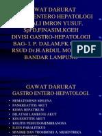 Gawat Darurat Gastro Hepatologi