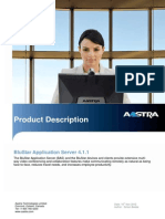 Product Description BluStar Application Server