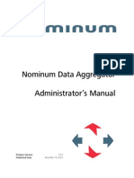 Nominum Data Aggregator 1.5.0 Manual 20121119