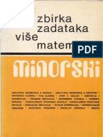 Minorski - Zbirka Zadataka Iz Vise Matematike