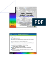2A-2 PHEV Testing