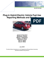 Phev Mpg Report July09