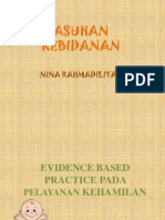 Evidance Based Kehamilan