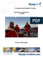 Yachtmaster Passages and Skipper Training. NEW Sep 11
