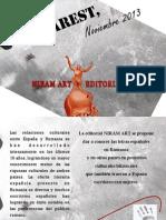 Niram Art Editorial presenta 4 escritores españoles en Bucarest