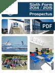 Sixth Form Prospectus 2014/15