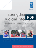 Strengthening Judicial Integrity through Enhanced Access to Justice