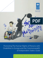 Promoting The Human Rights of Persons with Disabilities in Europe and Central Asia